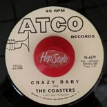 "45Re ✦THE COASTERS ""Crazy Baby""✦ TAMI LYNN ""I'm Gonna Run Away From You"" ✦Hear♫"